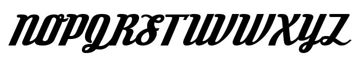 DeftoneStylus-Regular Font UPPERCASE