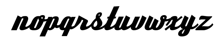 DeftoneStylus-Regular Font LOWERCASE