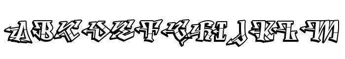 Degrassi-Regular Font UPPERCASE
