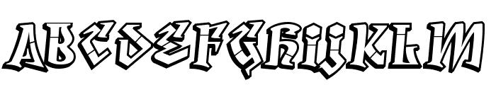 Degrassi-Regular Font LOWERCASE