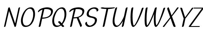 Dehasta Momentos Italic Font UPPERCASE