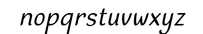Dehasta Momentos Italic Font LOWERCASE
