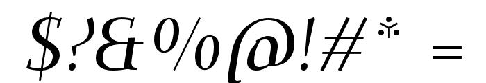 Dehuti Alt Bold Italic Font OTHER CHARS