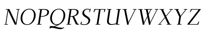 Dehuti Alt Italic Font UPPERCASE