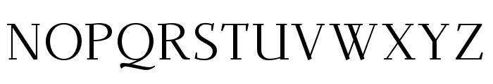 Dehuti Book Font UPPERCASE