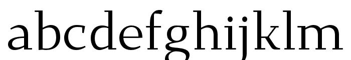 Dehuti Book Font LOWERCASE