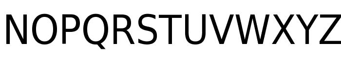 DejaVu Sans Condensed Font UPPERCASE