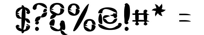 Dekon Font OTHER CHARS