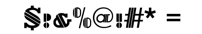 Delano-Caps-Regular Font OTHER CHARS