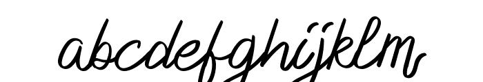 Delfoo Font LOWERCASE