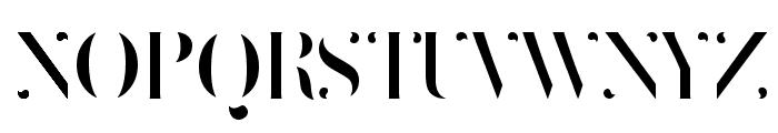 Delicate rounded Regular Font UPPERCASE
