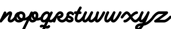 Delichia Script DEMO Regular Font LOWERCASE
