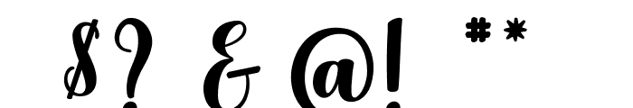 Delicious Adventures Font OTHER CHARS