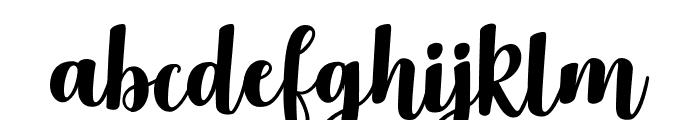 Delicious Adventures Font LOWERCASE