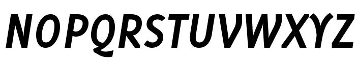 Delicious-BoldItalic Font UPPERCASE