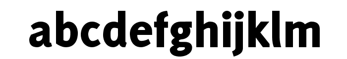 Delicious-Heavy Font LOWERCASE