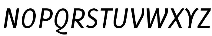 Delicious-Italic Font UPPERCASE