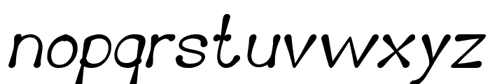 Delicious Ketchup Bold Italic Font LOWERCASE