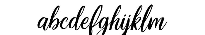 Delight Lettering Script DEMO Regular Font LOWERCASE