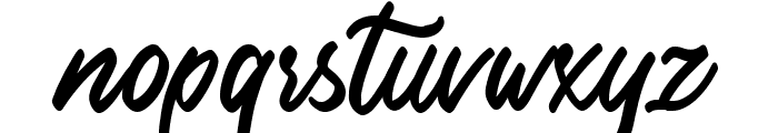Delight place Font LOWERCASE