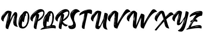 Delimax-Regular Font UPPERCASE