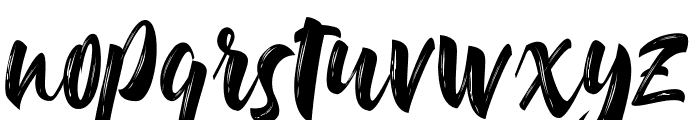 Delimax-Regular Font LOWERCASE