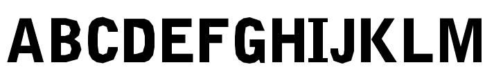 Delinquent-Black Font UPPERCASE