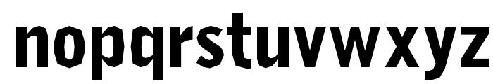 Delinquent-Black Font LOWERCASE