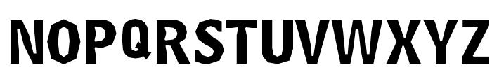 Delinquent-Caps Font UPPERCASE