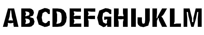 Delinquent-Caps Font LOWERCASE
