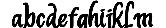 Deliont Font LOWERCASE