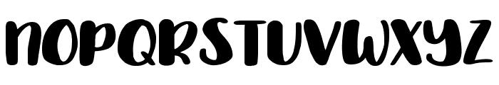 Delirious Medium Font UPPERCASE