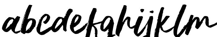 DeliriumSample Font LOWERCASE