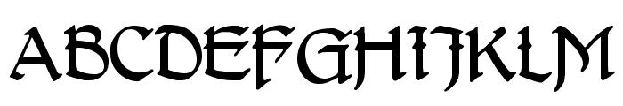 DelitschAntiqua Font UPPERCASE
