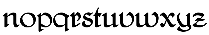 DelitschAntiqua Font LOWERCASE