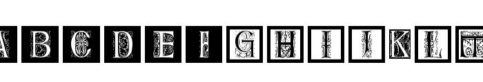 DelitzschCaps Font UPPERCASE