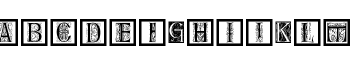 DelitzschCaps Font LOWERCASE