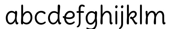 Delius Swash Caps Regular Font LOWERCASE