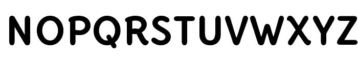 Delius Unicase Bold Font UPPERCASE