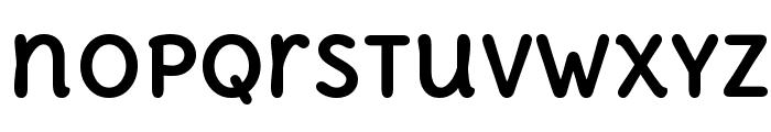 Delius Unicase Bold Font LOWERCASE