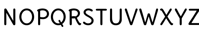 Delius Unicase Font UPPERCASE
