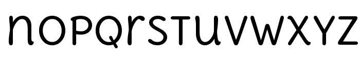 Delius Unicase Font LOWERCASE