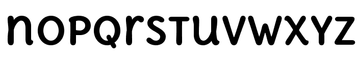 DeliusUnicase-Bold Font LOWERCASE
