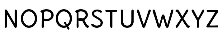 DeliusUnicase-Regular Font UPPERCASE