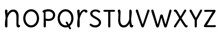 DeliusUnicase-Regular Font LOWERCASE