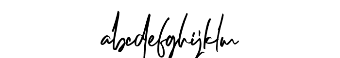 Dellamonde Font LOWERCASE