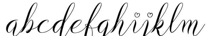 Delliavirra  Personal Use Only Font LOWERCASE