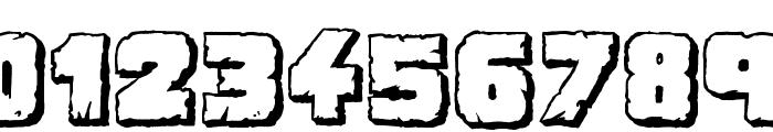 Demolition Crack Shadow Font OTHER CHARS