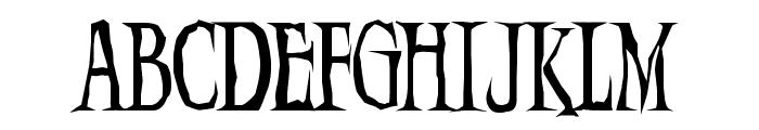Demon  Night Font UPPERCASE