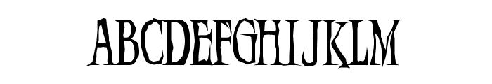 Demon  Night Font LOWERCASE